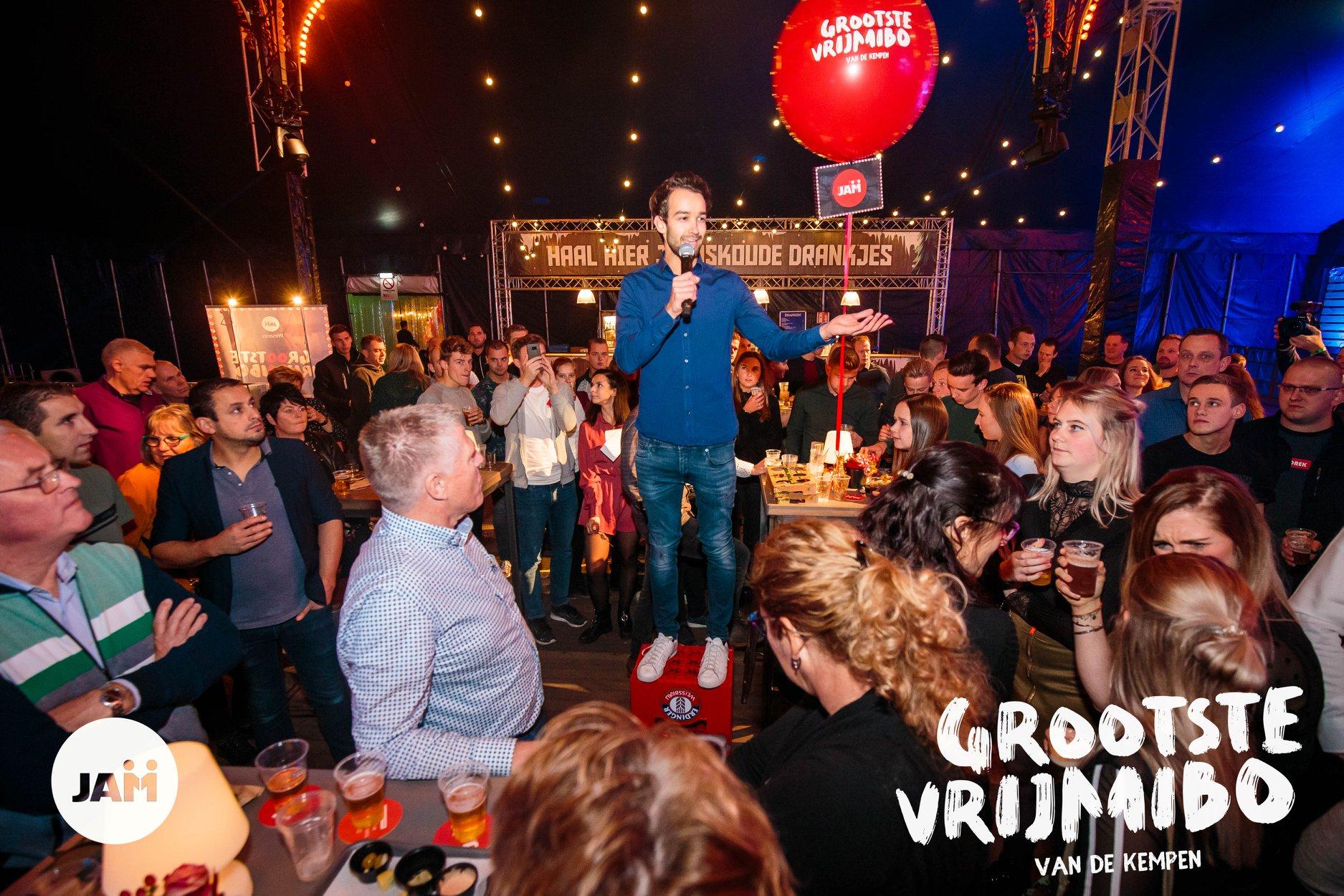 Maxime van der Kraan, Maximevents, JAM werkt, Jongerenarbeidsmarkt, Elsom, De Kempen